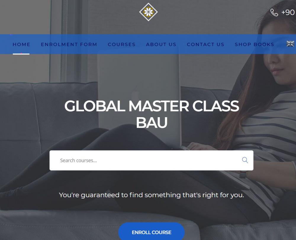 وبسایت دانشگاه baug ترکیه